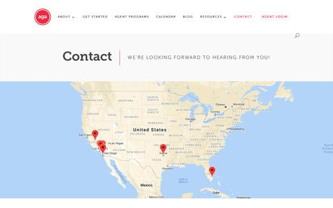Screenshot of Contact Page appliedga.com - Medicare Agency - Medicare Sales - CRM - captured Oct. 3, 2018