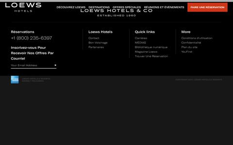 Loews Hotels | Luxury Hotels and Resorts