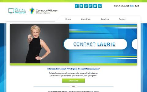 Screenshot of Contact Page thesocialnetworkingnavigator.com - contact - captured Aug. 15, 2016