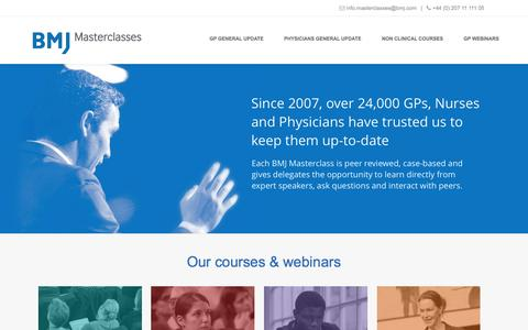 Update Courses for GPs and Physicians