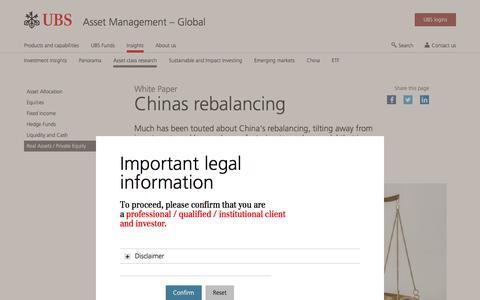 Screenshot of Team Page ubs.com - Chinas rebalancing | UBS Global topics - captured Nov. 14, 2019