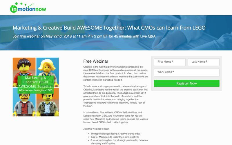 Marketing & Creative Build AWESOME Together