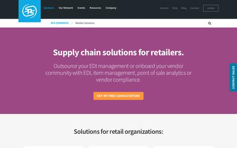Vendor onboarding, EDI and beyond: Supply chain solutions for retailers