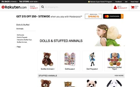 Dolls & Stuffed Animals - Rakuten.com