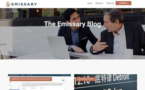Emissary Blog