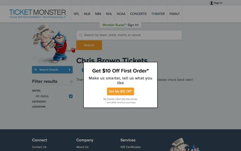 Chris Brown Tickets - Cheapest Tickets Lowest Prices