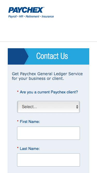 Paychex General Ledger Service | Sage Intacct