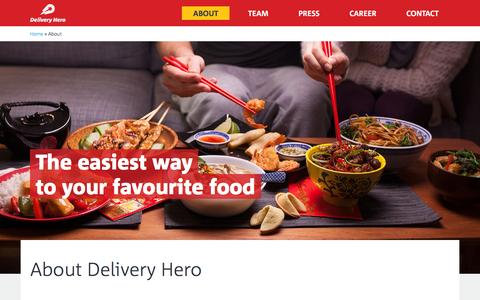 Delivery Hero Đ About