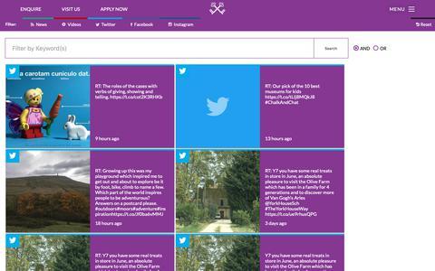 Screenshot of Press Page york-house.com - Media   York House School - captured Oct. 30, 2018