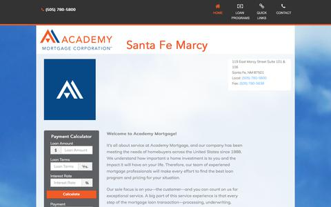 Santa Fe Marcy  - Academy Mortgage Corporation