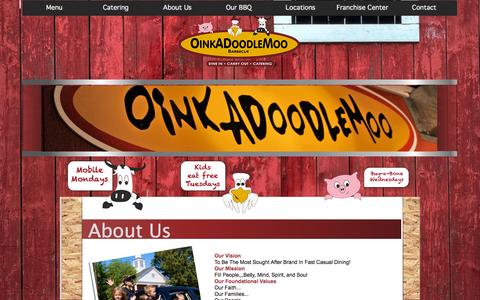 OinkADoodleMoo Smoky BBQ - About Us