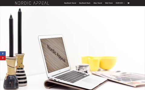 Screenshot of Blog nordicappeal.com - The Blog - Nordic Appeal - captured Feb. 26, 2020