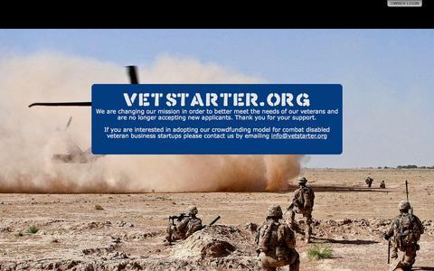 Screenshot of Blog vetstarter.org - VETSTARTER.ORG - captured Aug. 14, 2015