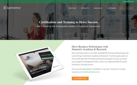 Certification and Training