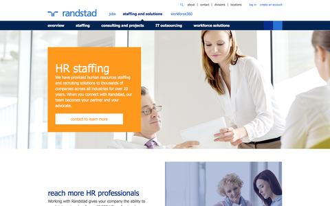 Human Resources Staffing | Randstad USA