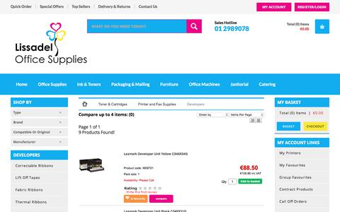 Screenshot of Developers Page lissadel.ie - Developers - Lissadel - captured Aug. 20, 2017