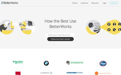 Our Customers Increase Employee Engagement, Productivity & Alignment | BetterWorks