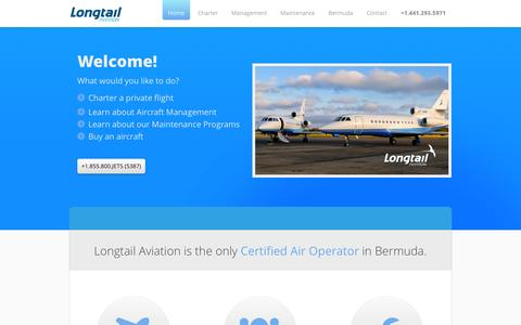 Screenshot of Terms Page longtailaviation.bm - Longtail Aviation - captured Oct. 3, 2014