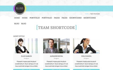 Screenshot of Team Page vii-ad.com - Team Shortcode | Sevan A Designs - captured Oct. 29, 2014