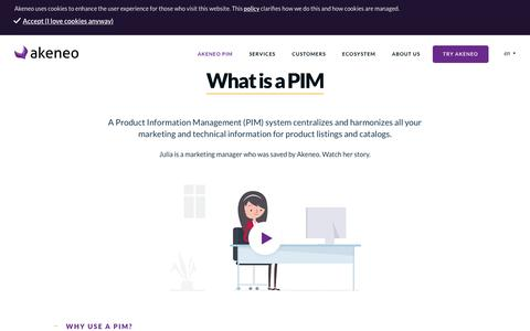 What is a PIM - Akeneo - The Open Source PIM