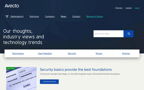 Avecto.com | Endpoint Security Blog