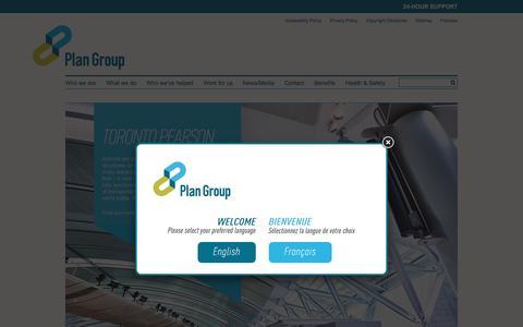 Screenshot of Case Studies Page plan-group.com - Case Studies | Plan Group - captured May 18, 2017