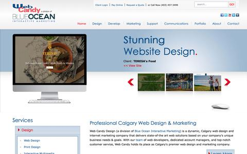 Screenshot of Home Page Terms Page webcandy.ca - Calgary Web Design, SEO, E-Commerce, Graphic Designers & More | Web Candy - Calgary Web Design and Web Development - Web Candy Design - captured Oct. 19, 2018