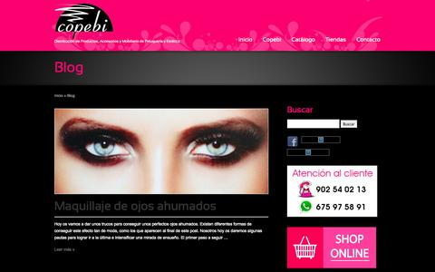 Screenshot of Blog copebi.com - Blog   Copebi - captured Sept. 26, 2014