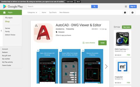 AutoCAD - DWG Viewer & Editor - Android Apps on Google Play