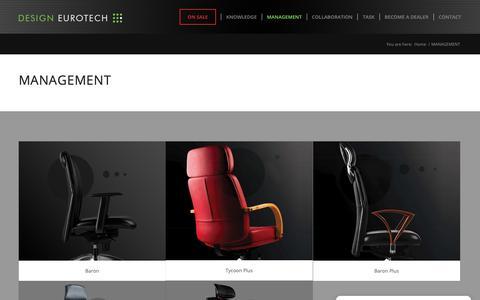 Screenshot of Team Page eurotechworld.com - MANAGEMENT - Eurotech Design Systems - captured Sept. 29, 2018