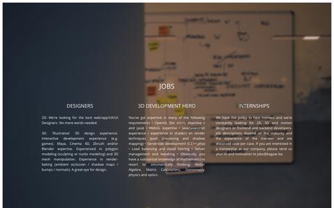 Screenshot of Jobs Page bagaar.be - Bagaar - captured Sept. 30, 2014