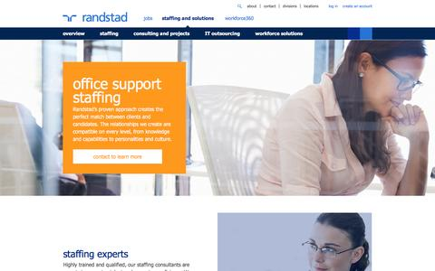 Office Staffing & Recruiting Solutions | Randstad USA