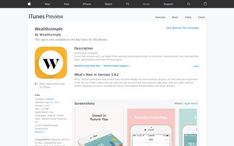Wealthsimple on the App Store