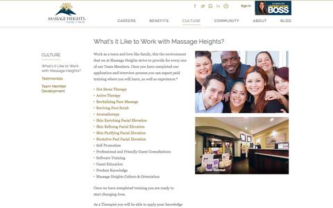 What's it Like to Work with Massage Heights?   Massage Therapist Jobs   Massage Heights Careers