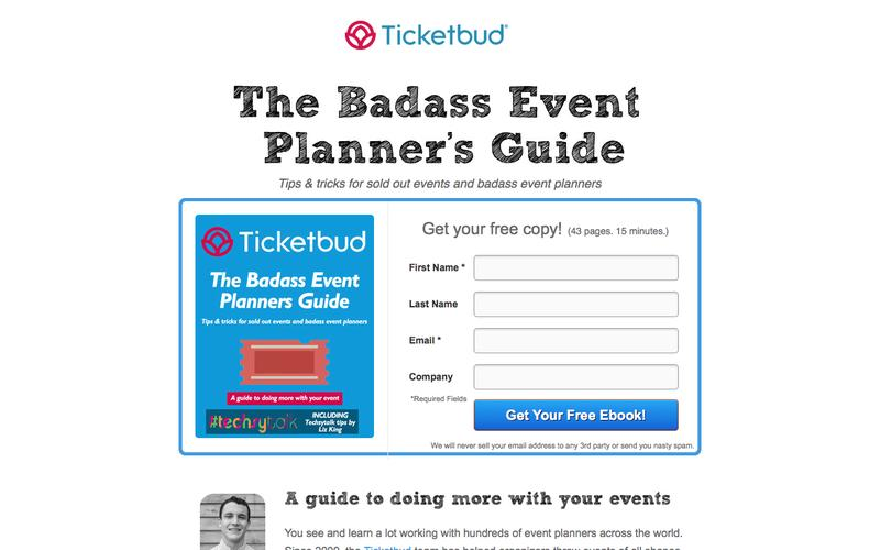 Ticketbud | Event Planner Guide