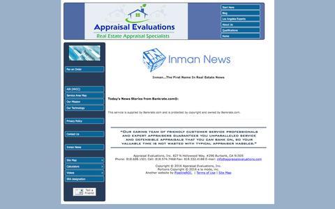 Screenshot of Press Page appraisalevaluations.com captured Nov. 21, 2016