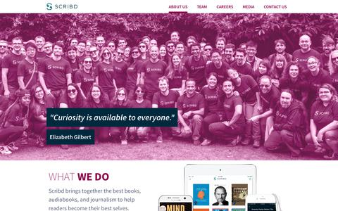 About Us | Scribd