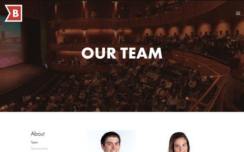 Screenshot of Team Page brandery.org - Team — THE BRANDERY - captured July 27, 2018