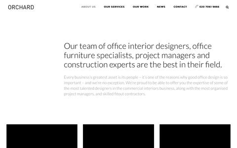 Screenshot of Team Page orchardofficedesign.co.uk - Our Office Design & Refurbishment Team | Orchard Group - captured Feb. 16, 2016