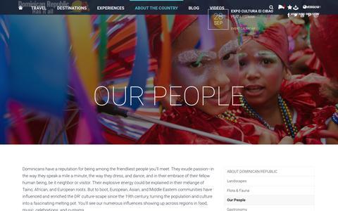 Screenshot of Team Page godominicanrepublic.com - Our People - GoDominicanRepublic.com - captured Sept. 30, 2018