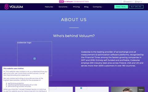 Voluum | Competitive Intelligence and Insights | Crayon