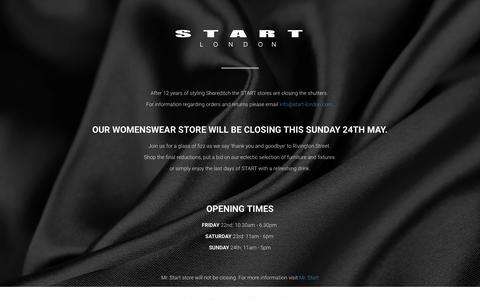 Screenshot of Blog start-london.com - Start London - captured July 3, 2015