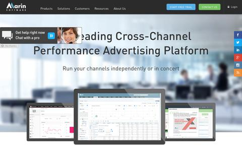 The #1 Cross-Channel Advertising Platform | Marin Software