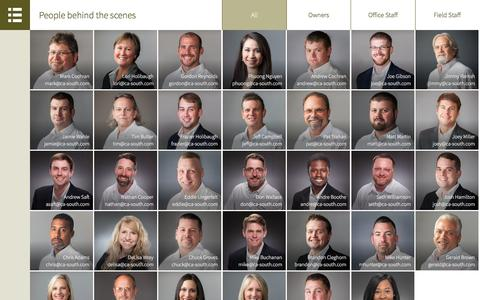Screenshot of Team Page ca-south.com - People - CA South - captured Jan. 23, 2016