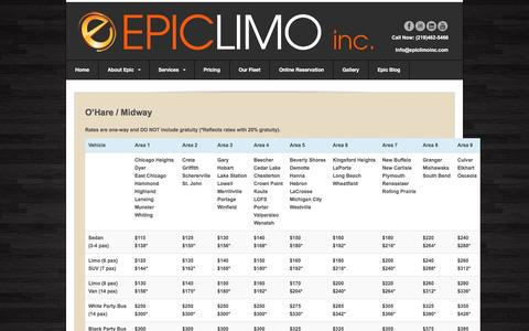 Screenshot of Pricing Page epiclimoinc.com - Pricing   Epiclimo, Inc. - captured Dec. 10, 2015