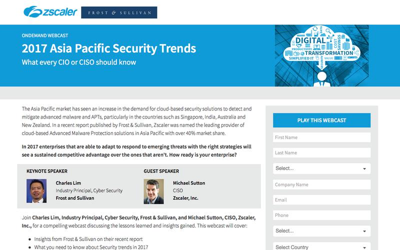 Security Trends in 2017: What every CIO or CISO should know