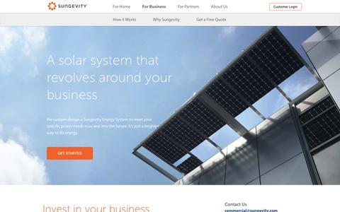 Sungevity for Business