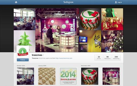 Screenshot of Instagram Page instagram.com - Instagram - captured Oct. 25, 2014