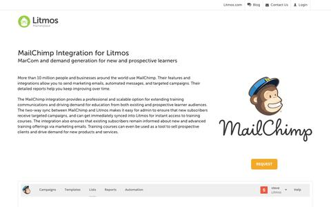 MailChimp - Litmos
