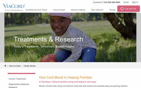 Cord Blood Banking Success Stories | ViaCord